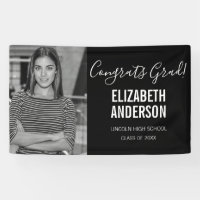 Full Photo Graduation Photo Banner