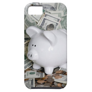 Full Piggy Bank Close case