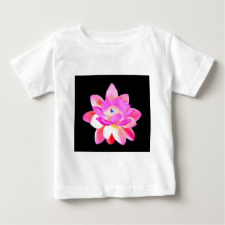 FULL PINK LOTUS WITH PEARL CHAKRA BLOOM BABY T-Shirt