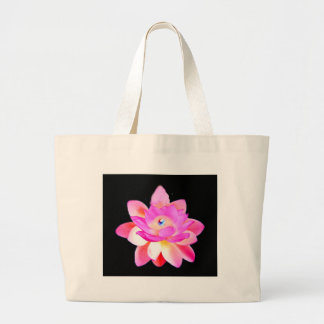 FULL PINK LOTUS WITH PEARL CHAKRA BLOOM BAGS