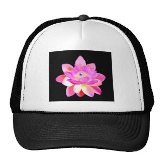 FULL PINK LOTUS WITH PEARL CHAKRA BLOOM HATS