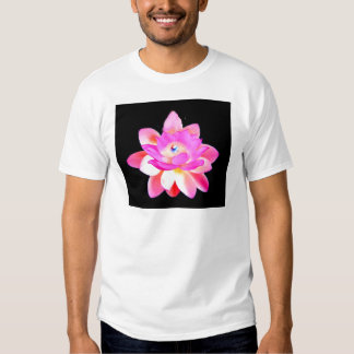 FULL PINK LOTUS WITH PEARL CHAKRA BLOOM T-Shirt