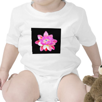 FULL PINK LOTUS WITH PEARL CHAKRA BLOOM ROMPERS