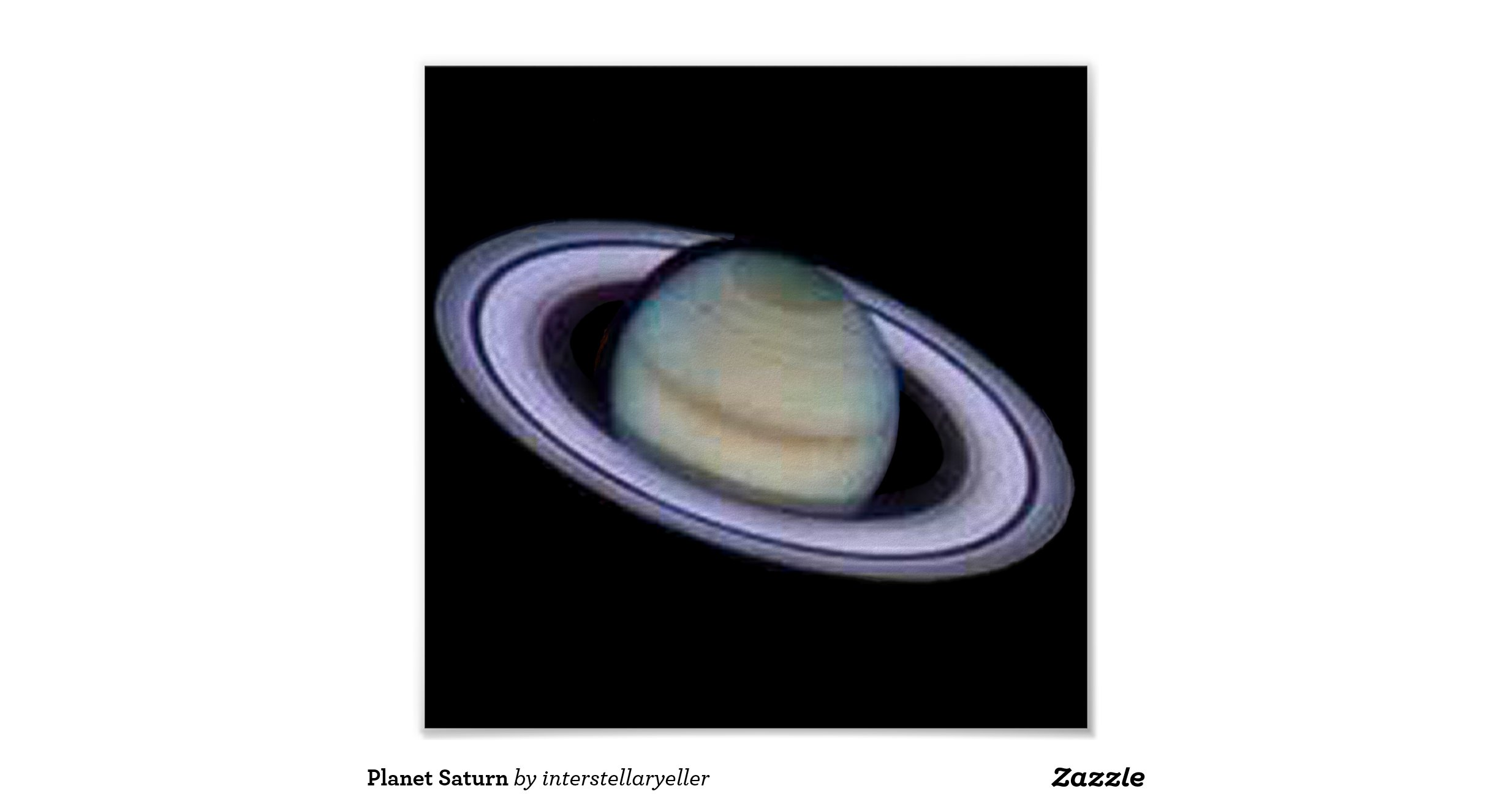planet saturn poster - photo #12