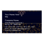 Full Purple Brown Damask wedding gift Business Cards