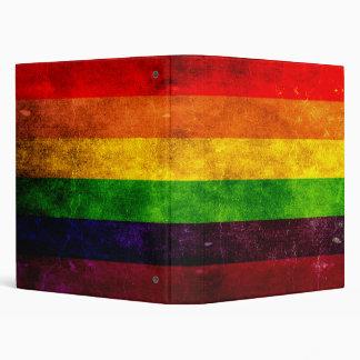 Full Rainbow Flag Binder