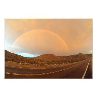 Full Rainbow on Trona Rd Photograph