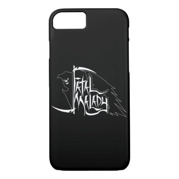 Halloween Themed Full REAPER on blk PHONECASE iPhone 8/7 Case