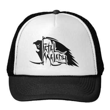Halloween Themed Full REAPER trucker hat 1