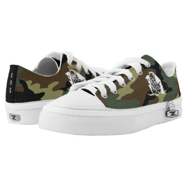 Halloween Themed Full REAPER WHITE SDS CAMO SHOES