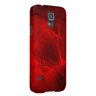 Full Red Samsung Galaxy S5 case for Keith