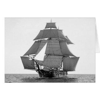 Full-Rigged Ship Card