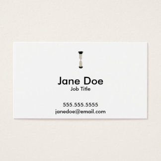 Full Sand Hourglass - Create your own caption! Business Card