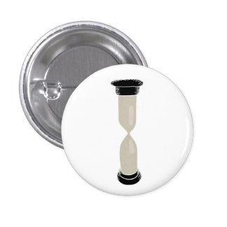 Full Sand Hourglass - Create your own caption! 1 Inch Round Button