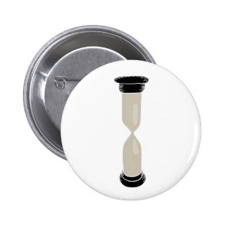 Full Sand Hourglass - Create your own caption! 2 Inch Round Button