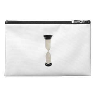 Full Sand Hourglass - Create your own caption! Travel Accessory Bag