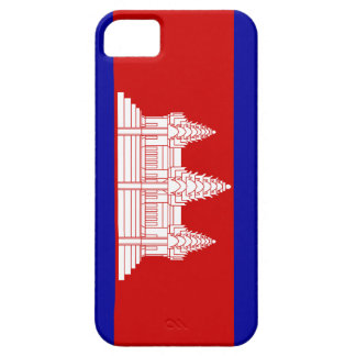 Full Scale Cambodian / Khmer Flag iPhone 5 Case