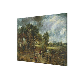 Full scale study for 'The Hay Wain', c.1821 Gallery Wrapped Canvas