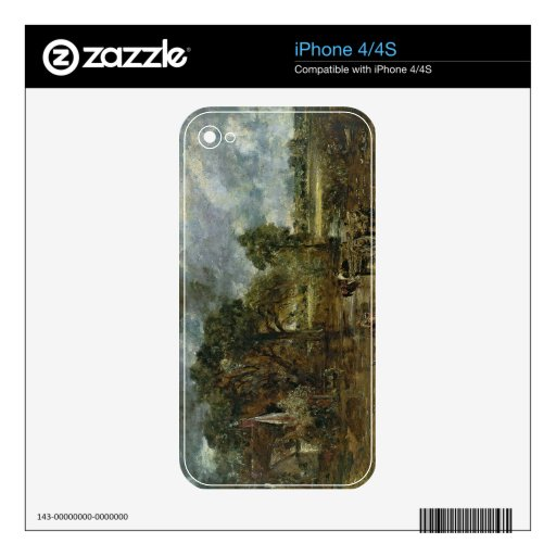 Full scale study for 'The Hay Wain', c.1821 iPhone 4 Skin