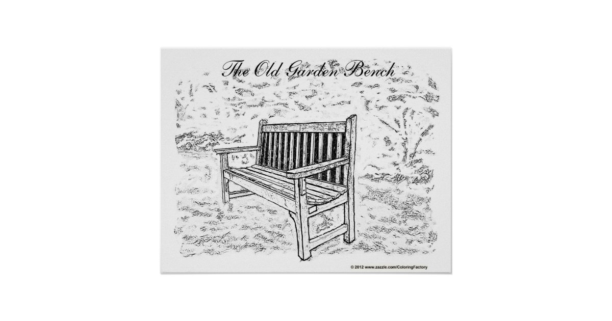 Full size coloring poster do it yourself wall art zazzle for Wall size coloring pages
