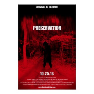 Full size Preservation Movie poster