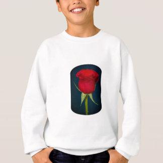 full Sleave Red Rose Image Sweatshirt
