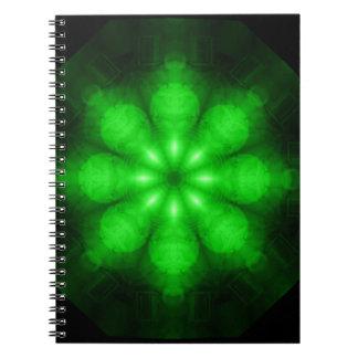 Full Spectrum Green Notebook