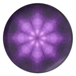 Full Spectrum Purple Kaliedoscope Plate
