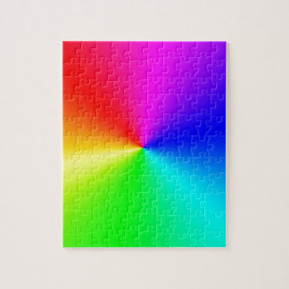 Full Spectrum Rainbow Jigsaw Puzzle