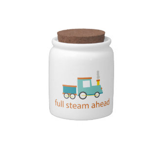 Full Steam Ahead Candy Dishes