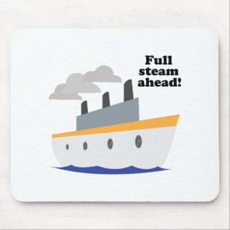 Full Steam Ahead! Mouse Pads