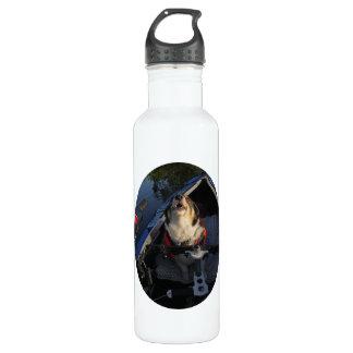 Full Stop! 24oz Water Bottle
