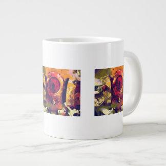 Full Stroke Large Coffee Mug