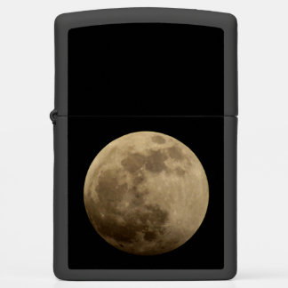 Full Super Moon Zippo Lighter