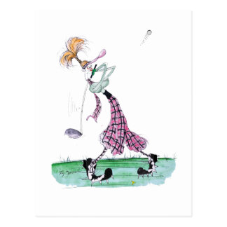 full swing golf, tony fernandes postcard