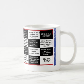 Full term breastfeeding bingo coffee mugs