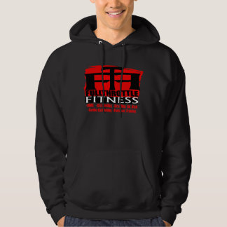 "Full Throttle Fitness Dark ""Stamp"" Logo Hoodie"
