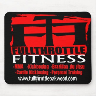 Full Throttle Fitness Mouse Pad