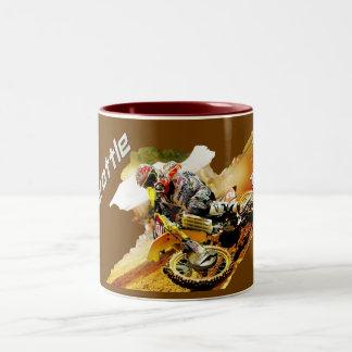Full Throttle Motocross racing Travel Mug