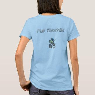 Full Throttle Womens MotoCross Tee Shirt