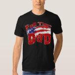 FULL TIME DAD FLAG T-SHIRT