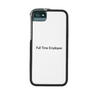 Full Time Employee Case For iPhone 5/5S