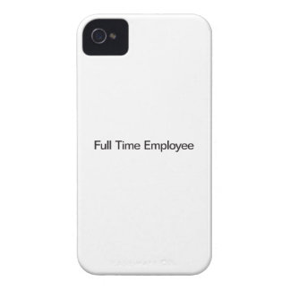 Full Time Employee Case-Mate iPhone 4 Cases