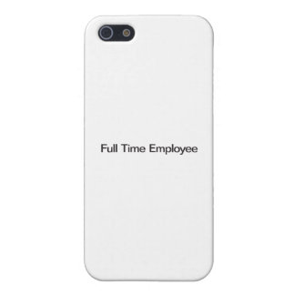 Full Time Employee iPhone 5/5S Case