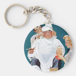 Full Treatment Basic Round Button Keychain