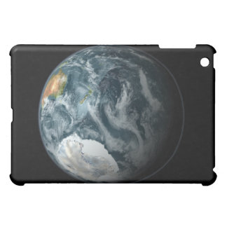 Full view of the Earth highlighting Antarctica iPad Mini Cover