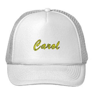 Full White Mesh Cap for Carol Trucker Hat