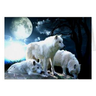 Full Wolf Moon Card