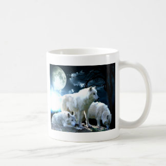 Full Wolf Moon Coffee Mug