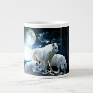 Full Wolf Moon Giant Coffee Mug